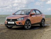 Объявлены цены на новый седан Lada Vesta Cross