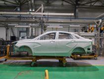В Казахстане началось производство Lada Xray и Vesta