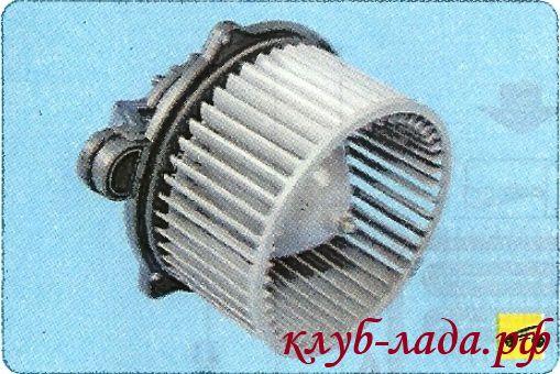Вентилятор отопителя ЛАДА Гранта (воздухонагнетатель)