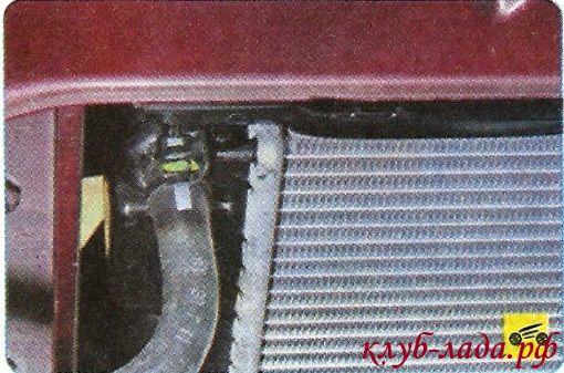Пароотводящего шланга радиатора