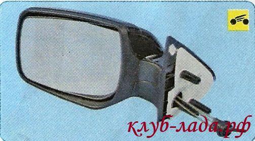 боковое зеркало Гранты в сборе