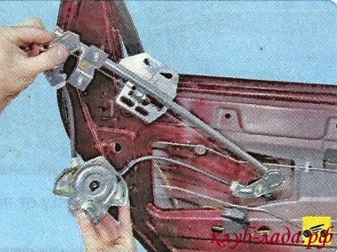 Снятие и установка стеклоподъемников Гранты