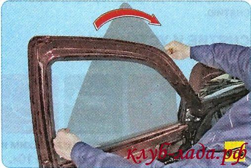 Снять стекло передней двери гранты