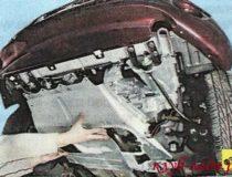 Снятие и установка защиты двигателя Гранты и Калина 2