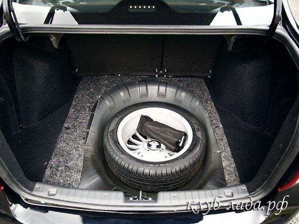 Если появилась вода в багажнике Гранты или Калина 2