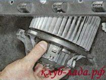 Замена вентилятора отопителя Гранты