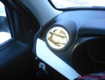 Подсветка круглых воздуховодов печки Гранты/Калина 2