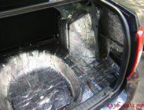 Шумоизоляция багажника Гранты
