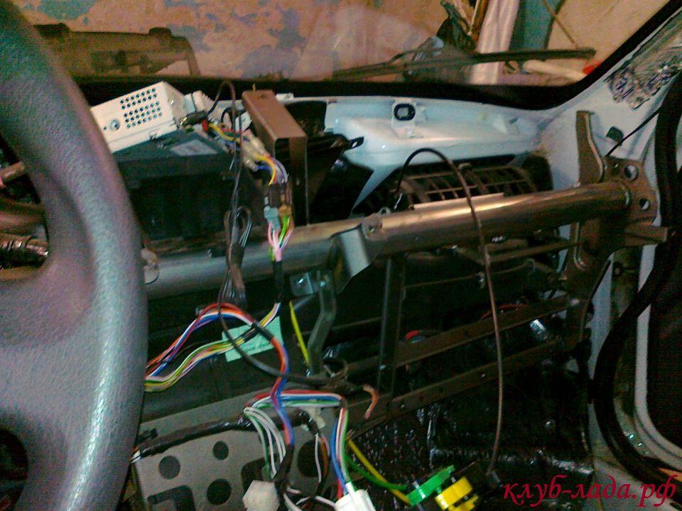 моторный щит под панелью Гранты