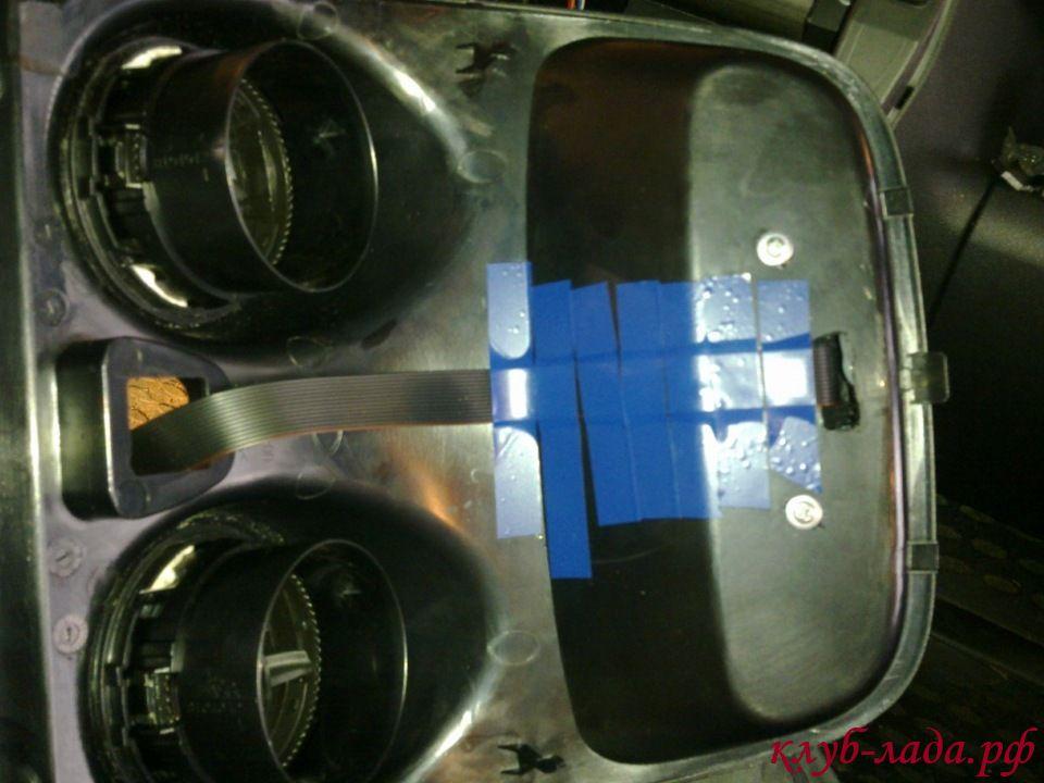 установка мультитроникс ТС 750 в Гранту (проводка)
