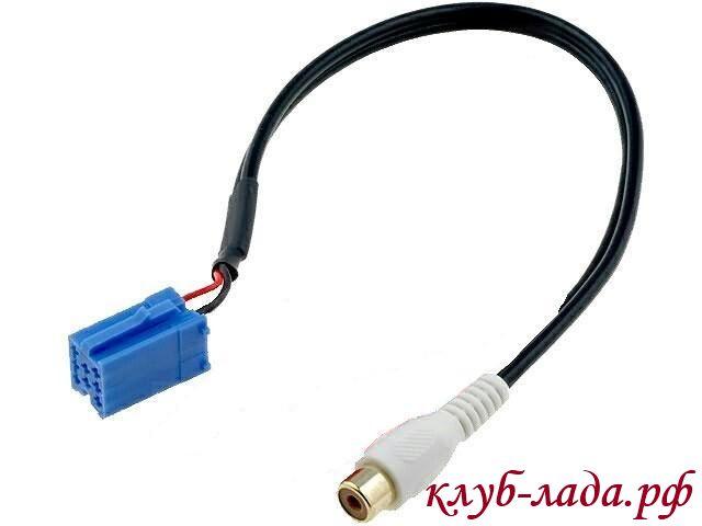 Два провода разъема