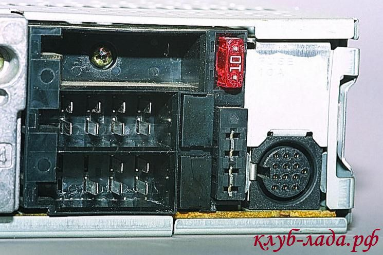разъем ISO на магнитоле