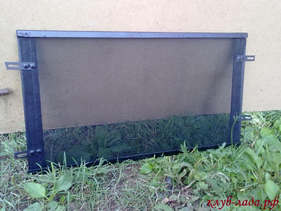 самодельный защитный экран радиатора гранты