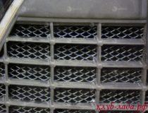 Установка защиты радиатора на Гранту