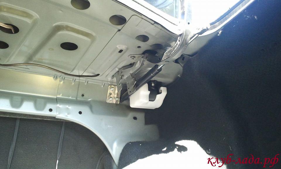 газовые упоры багажника Гранты