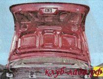 Регулировка открытия крышки багажника Лада Гранта