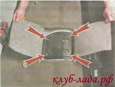 Вывернуть 4 винта крепления крышки