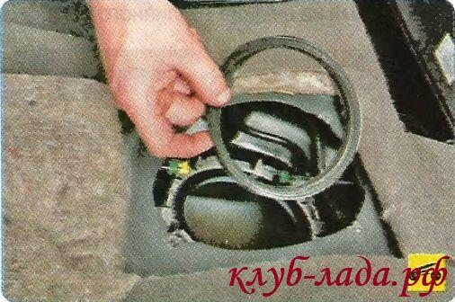 резиновое уплотнительное кольцо бензонасоса Калины