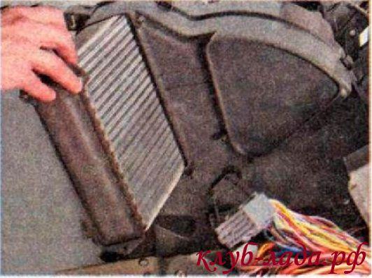 Радиатор отопителя (печки) калина
