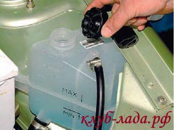 ремонт системы охлаждения двигателя калина