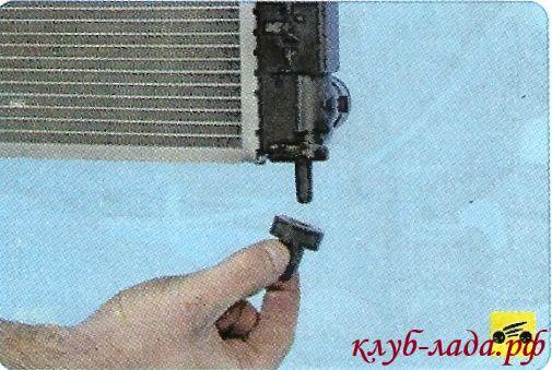 подушки нижнего крепления радиатора гранты/калины