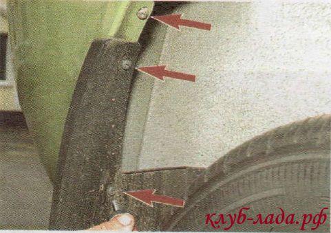 Как отремонтировать бампер на калине