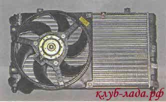 радиатор калина