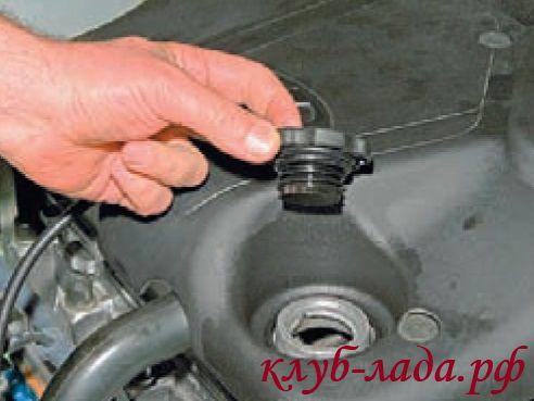 Порядок замены масла Лада Калина (моторного)