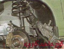 Замена рулевой рейки Калины