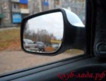 Установка зеркал с подогревом на Калину