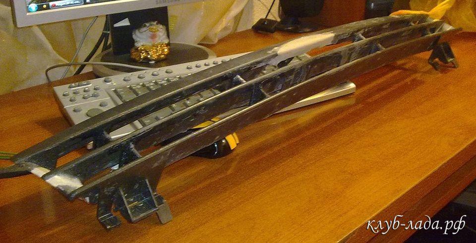 шлифовка решетки радиатора калины
