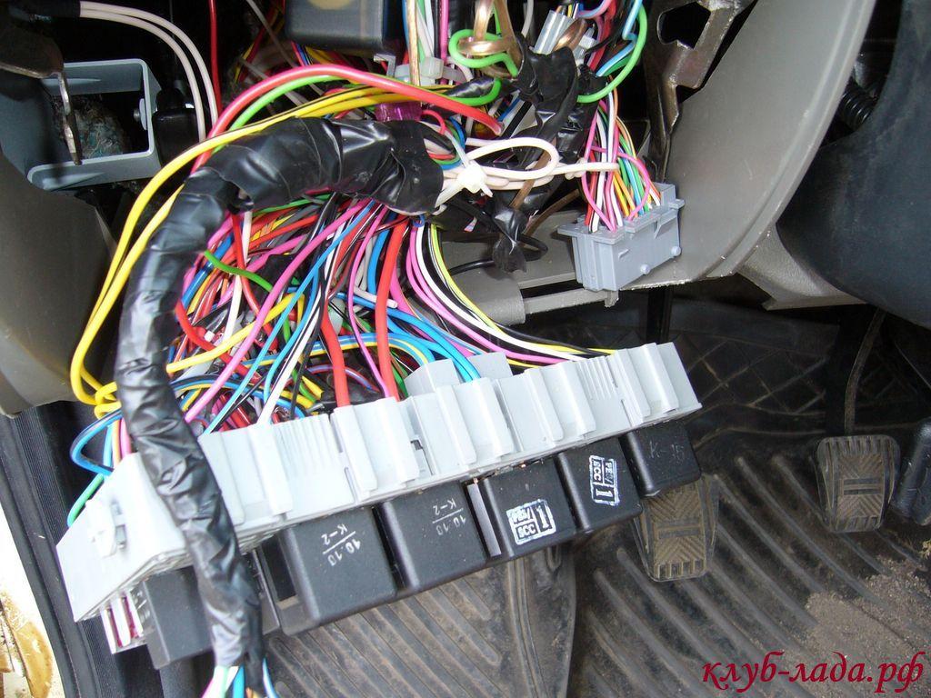 Подключение датчика уровня топлива