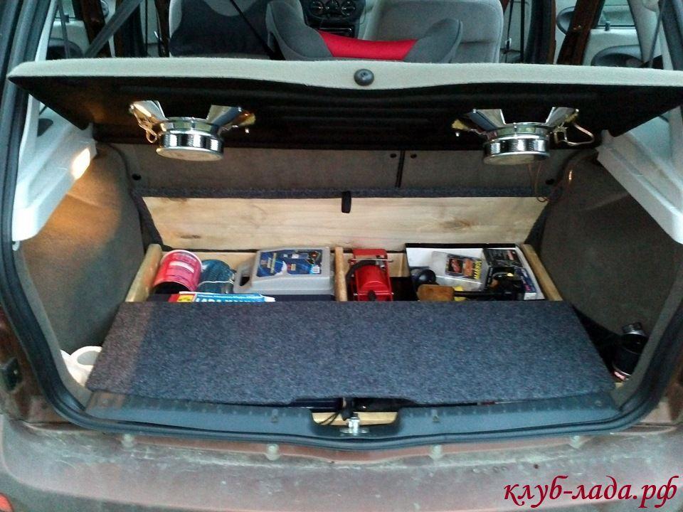 Ящик в багажник своими руками