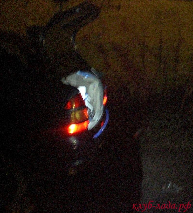 Подсветка багажника Калина Седан