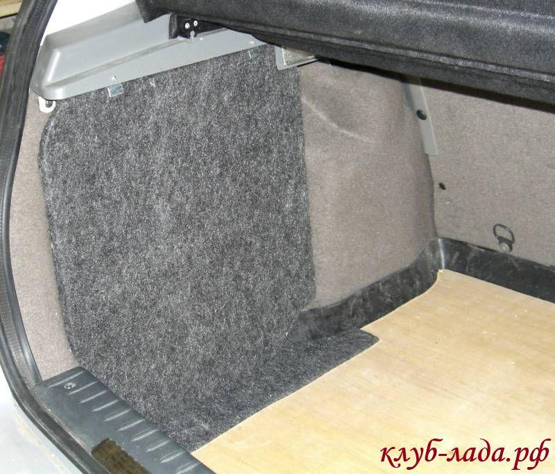 Органайзер в багажник своими руками калина