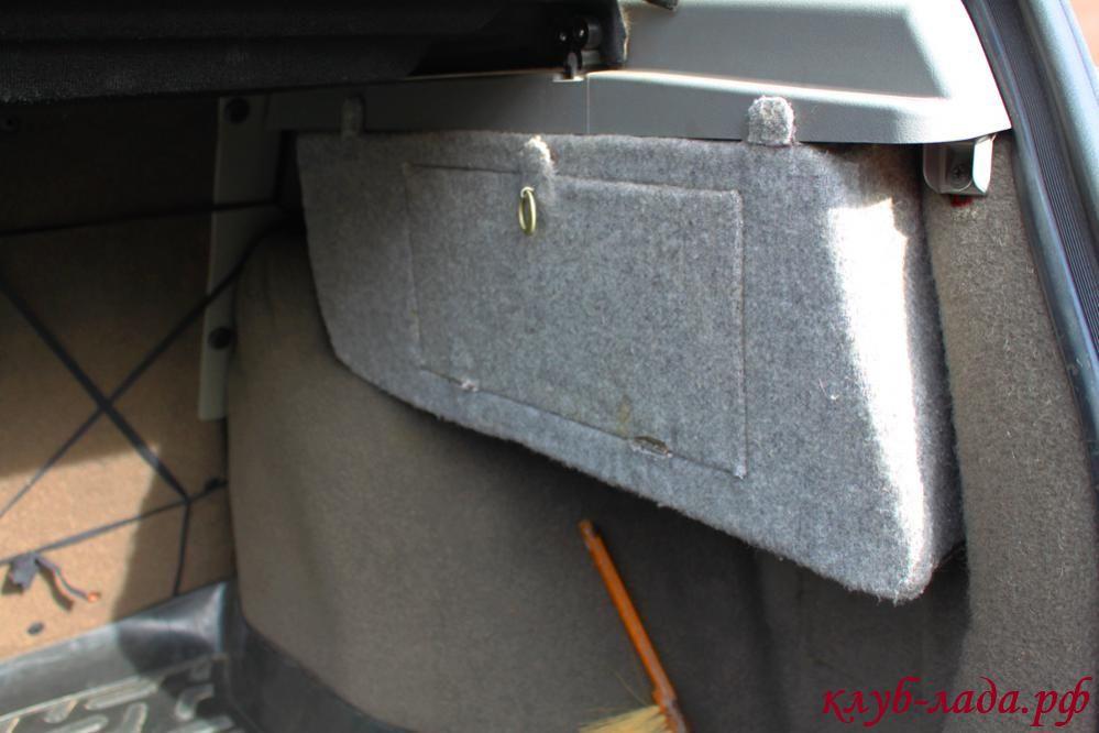 Шумоизоляция багажника приоры хэтчбек своими руками фото 350