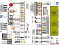 Электросхема Калина 2 универсал
