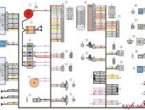 Электросхемы Лада Калина 2 хэтчбек (люкс)
