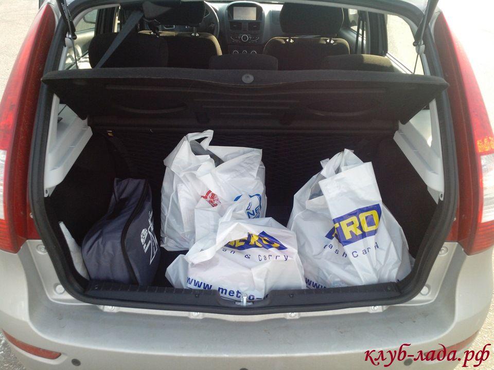 багажник калина 2