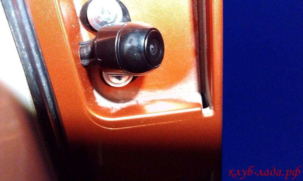 камера заднего вида калина/калина 2