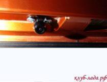 Установка камеры заднего вида на Калина/Калина 2