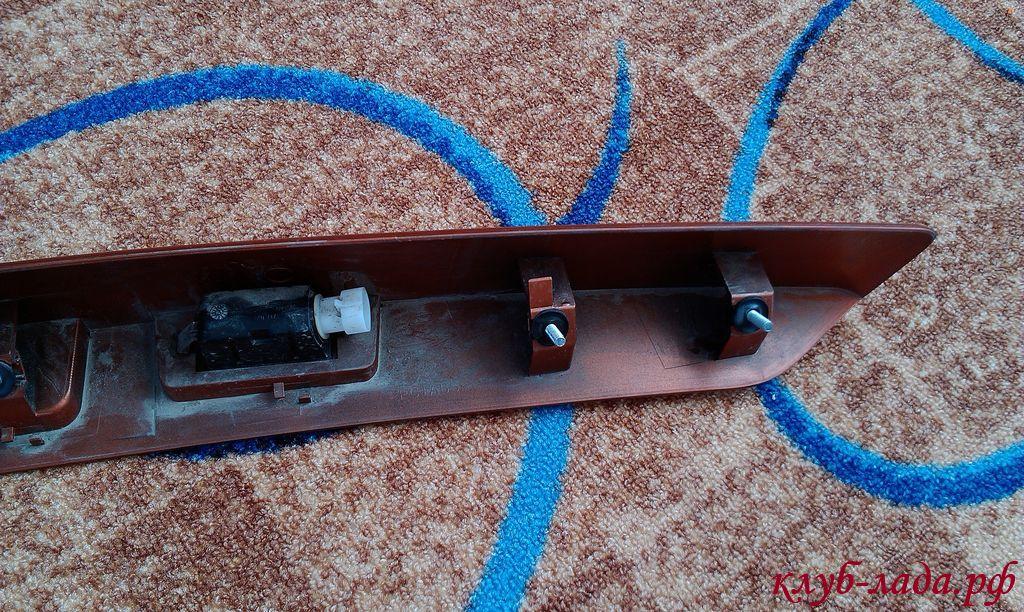 сабля (накладка двери задка) калина/Калина 2