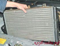 Как снять радиатор на Приоре
