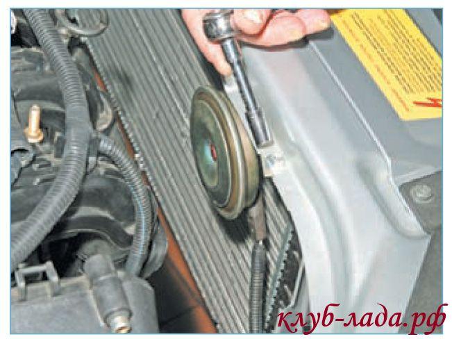 Отвести звуковой сигнал от радиатора приоры