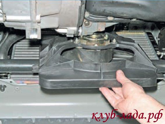 Как снять вентилятор радиатора на Приоре
