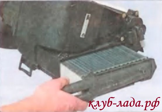 Радиатор отопителя Приоры