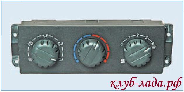 Блок управления отоплением и вентиляцией