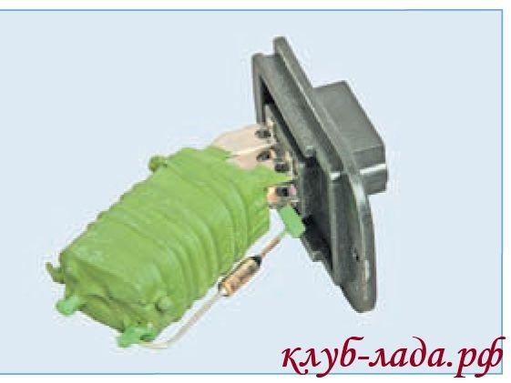 резистор отопителя приоры