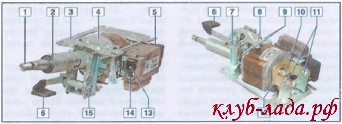 Рулевая колонка с электроусилителем рулевого управления Приоры
