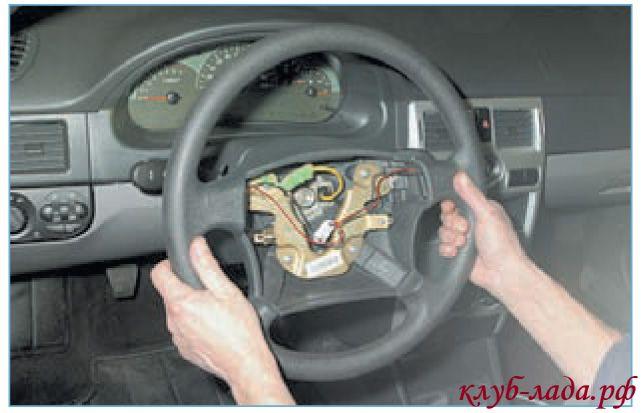 тянуть руль на себя